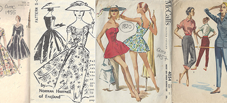 1950s vintage patterns