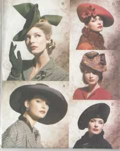 1930s Vintage Sewing Pattern Accessories