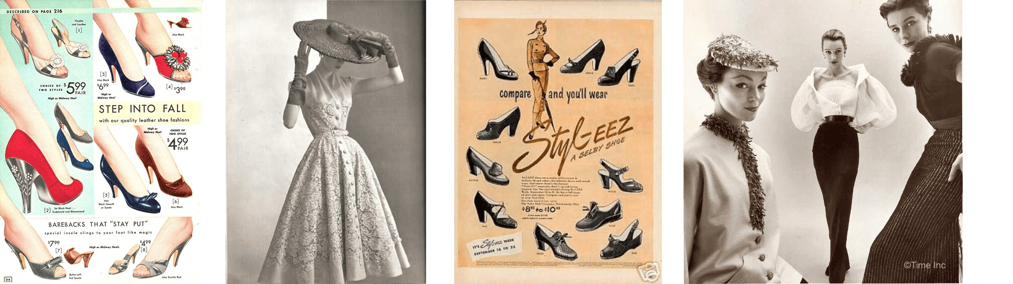 1950s Vintage Fashion