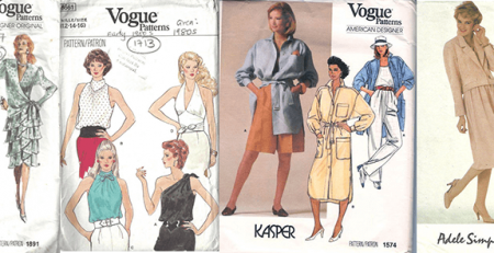 The Most Iconic 1980s Vintage Sewing Patterns