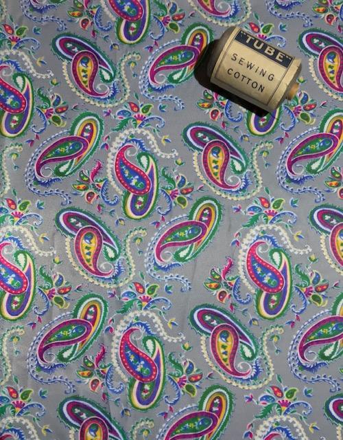 WW2 Paisley Print GOOD