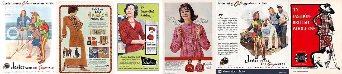 1950s Knitting Pattern