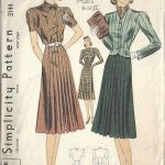 1940s-WW11-Vintage-Sewing-Pattern-B34-JACKET-DRESS-1731R-252498981470