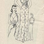 1940s-WW2-Vintage-Sewing-Pattern-B36-NIGHTDRESS-1476-262003785030