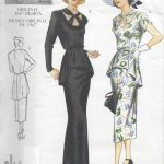 1947-Vintage-VOGUE-Sewing-Pattern-B34-36-38-DRESS-R394-251157411520