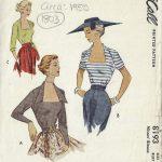 1950-Vintage-Sewing-Pattern-B32-BLOUSE-1803-262919131740