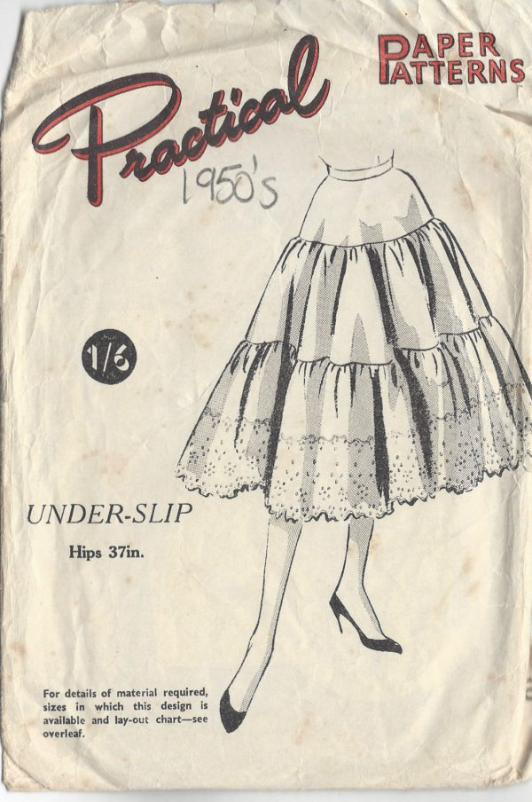 1950s Vintage Sewing Pattern W26\