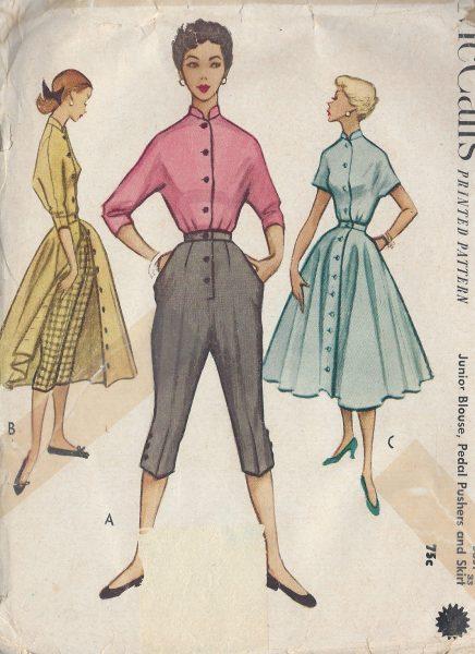 1952 Vintage Sewing Pattern B33\