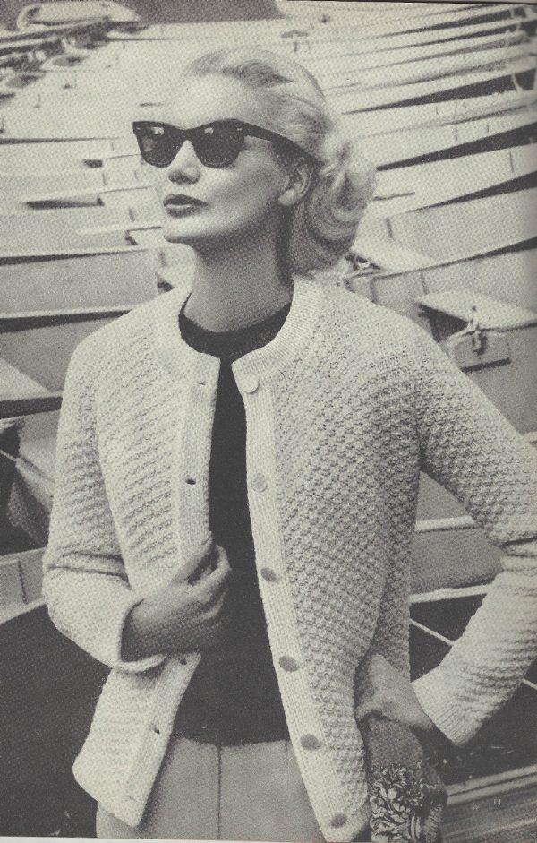 1959 Vintage Knitting Pattern V91 By Vogue The Vintage Pattern Shop