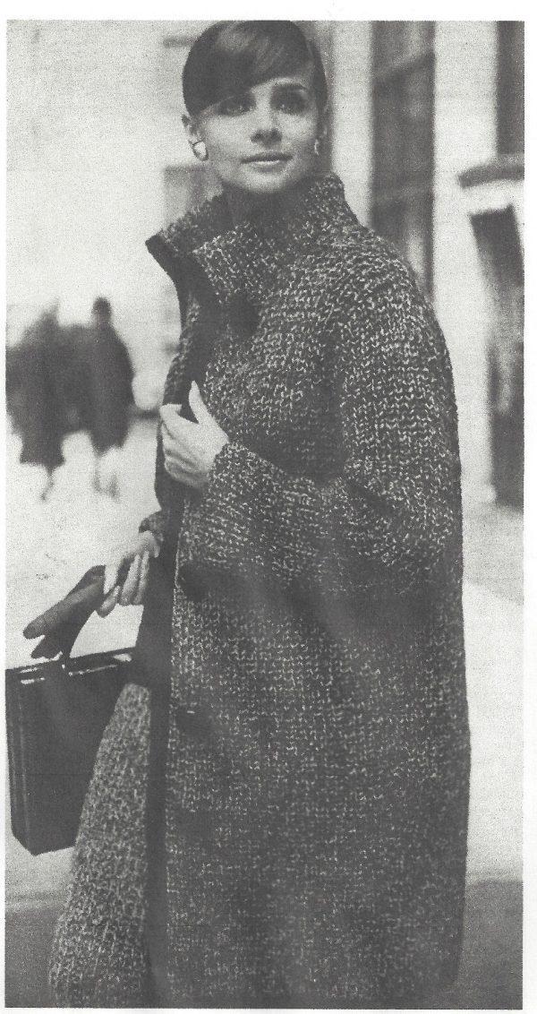 1964 Vintage Knitting Pattern V1 By Vogue