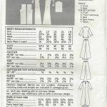 1970s-Vintage-Sewing-Pattern-B36-CAFTAN-TOP-PANTS-R1600-252335431740-2