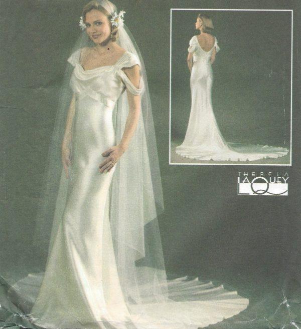 1930s-Vintage-Sewing-Pattern-DRESS-VEIL-B305-315-325-34-1366-261717064321