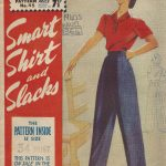 1940s-WW2-Vintage-Sewing-Pattern-B34-PANTS-TROUSERS-SLACKS-SHIRT-1364-252017535041