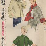 1950-Vintage-Sewing-Pattern-B30-TOPPER-JACKET-1294-261518187081