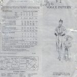 1950-Vintage-VOGUE-Sewing-Pattern-B36-DRESS-SCARF-1489-By-Jacques-Fath-262031443951-3