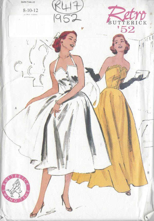 1952 Vintage Sewing Pattern B31 1/2\
