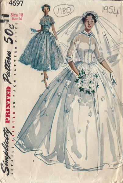 1954 Vintage Sewing Pattern B36\