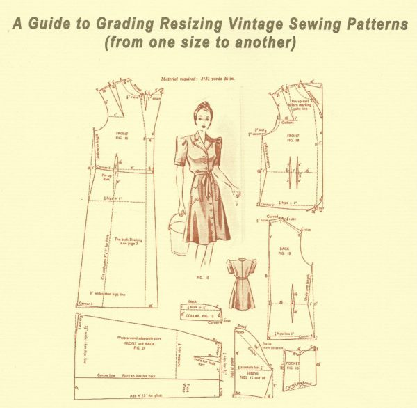 BOOKLET-A-Guide-to-Grading-Resizing-Vintage-Sewing-Patterns-261575509391