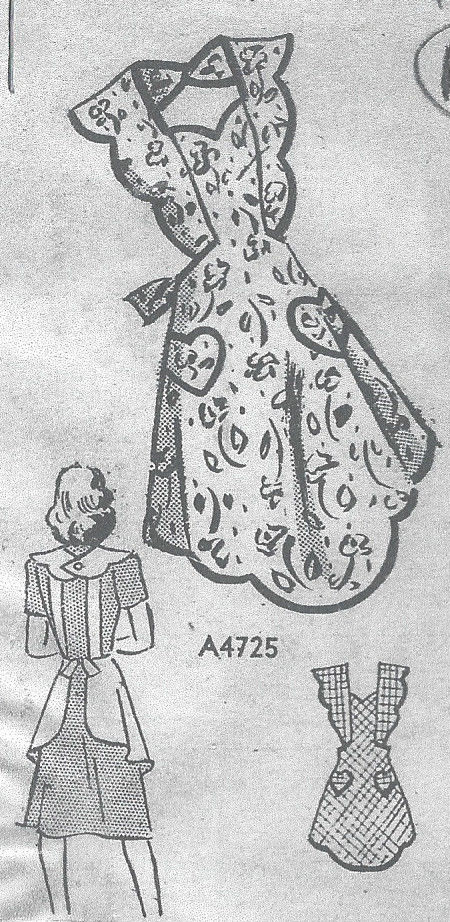 1940s-Vintage-Sewing-Pattern-APRON-B32-34-SMALL-R29-251144856582