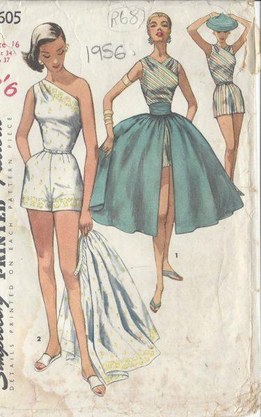 1956 Vintage Sewing Pattern B34\