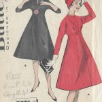 1960s-Vintage-Sewing-Pattern-B36-DRESS-R372-251157933982