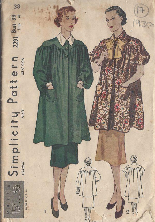 1930s-Vintage-Sewing-Pattern-B38-SMOCK-17-251174198863