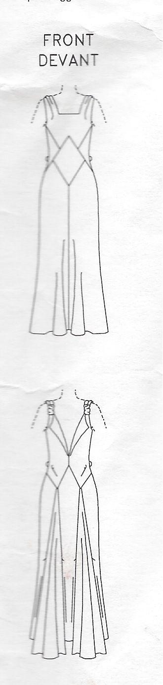 1931-Vintage-VOGUE-Sewing-Pattern-B34-DRESS-1035R-262847894493-4