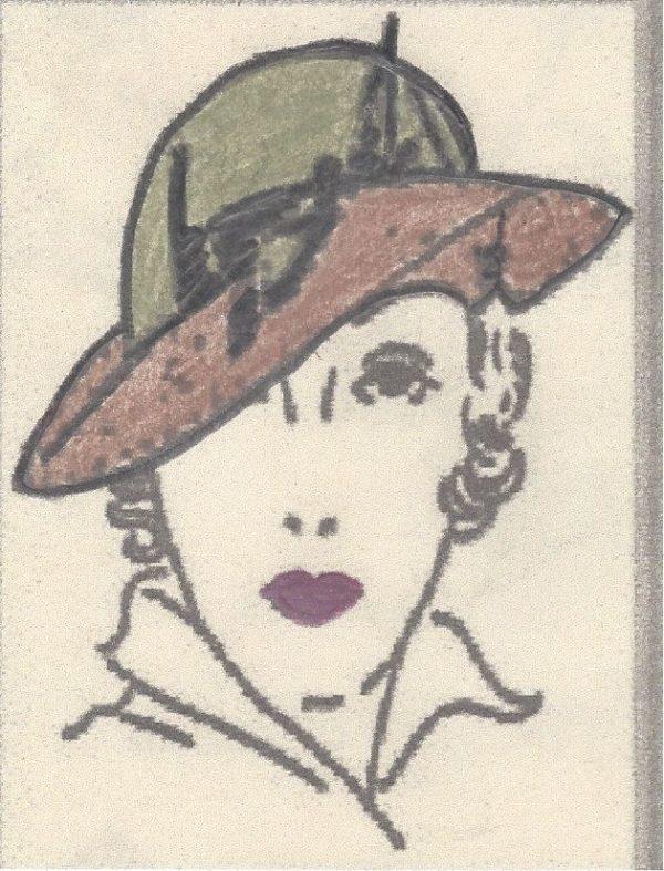 1939-Vintage-Sewing-Pattern-HAT-S22-MEDIUM-R801-251200291813