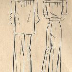 1940-WW2-Vintage-Sewing-Pattern-B34-SHIRT-PANTS-SLACKS-1491R-252081940453-2
