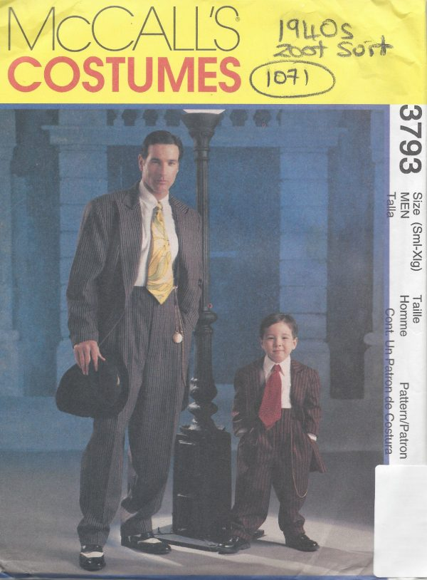 1940s-Vintage-Sewing-Pattern-C34-TO-48-MENS-ZOOT-SUIT-1071-252201238503