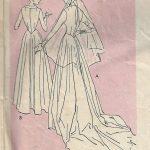 1950-Vintage-Sewing-Pattern-B34-BRIDAL-GOWN-BRIDEMAIDS-DRESS-1763-252701359303-3