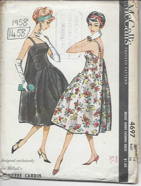 1958 Vintage patrón de costura B3-4 PLAYSUIT Falda /& bloused chaqueta r858