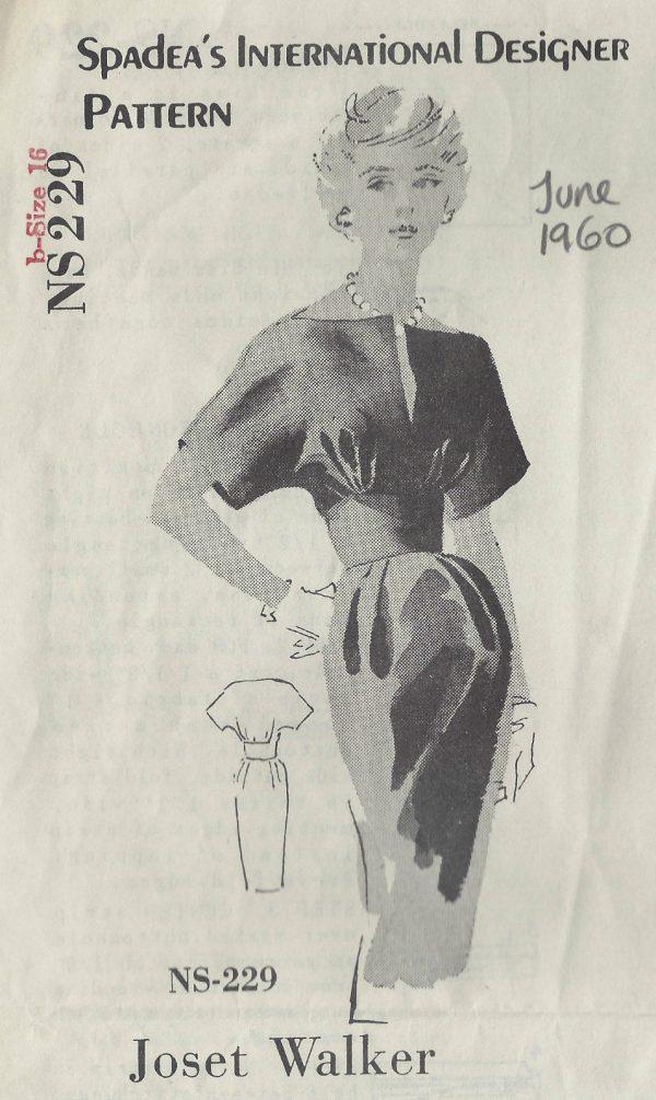 1960-Vintage-Sewing-Pattern-B38-DRESS-1464-By-Joset-Walker-SPADEA-PATTERN-252039231363
