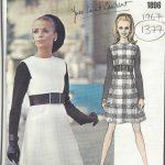 1967-Vintage-VOGUE-Sewing-Pattern-B36-DRESS-1377-By-YVES-SAINT-LAURENT-261720133853