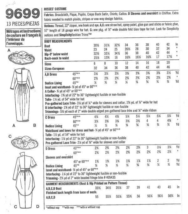 1900s-Edwardian-Vintage-Sewing-Pattern-DRESS-B30-12-31-12-32-12-34-1141-251500032694-3