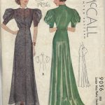 1936-Vintage-Sewing-Pattern-B34-DRESS-1541-262141160494