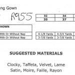 1939-Vintage-Sewing-Pattern-B36-EVENING-DRESS-R955-251263756714-3