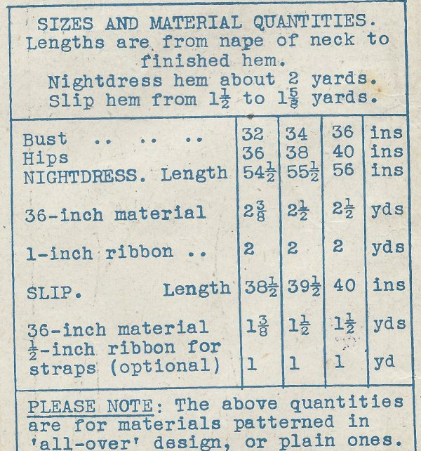 1940s-Vintage-Sewing-Pattern-B32-NIGHTDRESS-SLIP-R557-251150222464-2