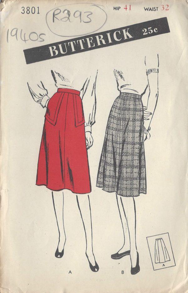 1940s-Vintage-Sewing-Pattern-SKIRT-W32-R293-251143141444