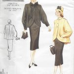 1947-Vintage-VOGUE-Sewing-Pattern-B34-36-38-COAT-SKIRT-R397-251157404844
