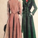 1950s-Vintage-VOGUE-Sewing-Pattern-B38-COAT-1387-261753964354-2