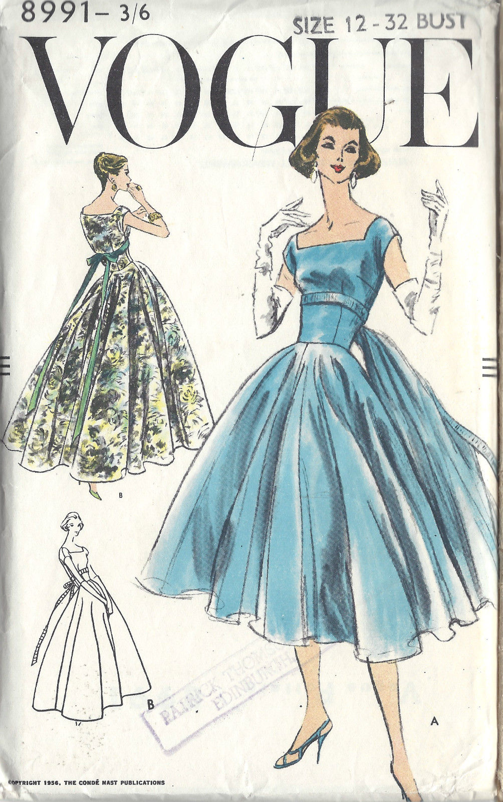 Exelent Wedding Gown Sewing Patterns Elaboration - All Wedding ...