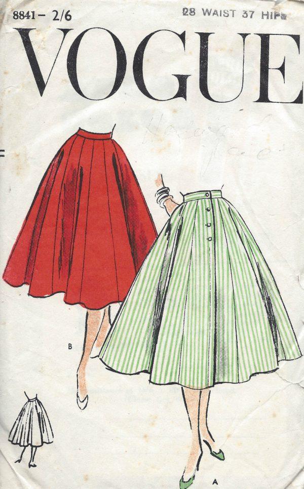 1956 Vintage VOGUE Sewing Pattern W28\