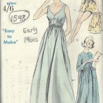 1960s-Vintage-VOGUE-Sewing-Pattern-B38-NIGHTGOWN-PEIGNOIR-CAP-PANTIES-1598-262352015824