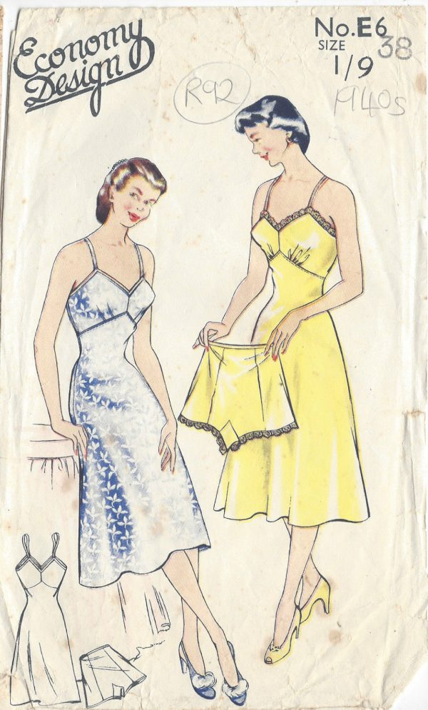 1940s-Vintage-Sewing-Pattern-B38-SLIP-KNICKERS-R92-251144501555