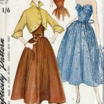 1950-Vintage-Sewing-Pattern-B34-DRESS-JACKET-R656-251176124485