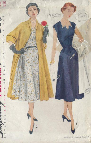 0da091e8 1940s WW2 Vintage Sewing Pattern W37