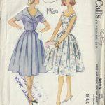 1960-Vintage-Sewing-Pattern-B36-DRESS-JACKET-1588-252331480225