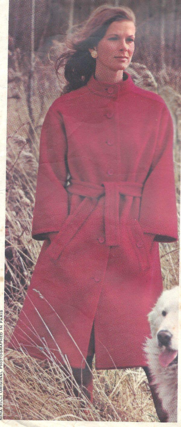 1971-Vintage-VOGUE-Sewing-Pattern-B34-COAT-SKIRT-PANTS-BLOUSE-1343-NINA-RICCI-251703246995-2