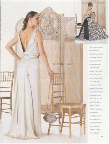 1931-Vintage-VOGUE-Sewing-Pattern-B32-12-DRESS-1201R-261449172576-3